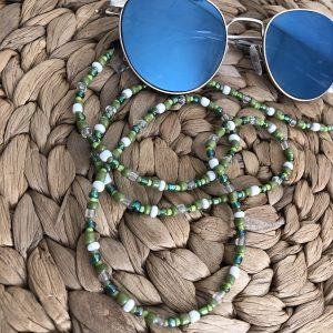 Groen zonnebrilkoord