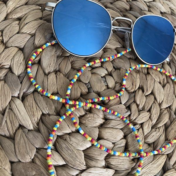 Kleurrijk zonnebrilkoord