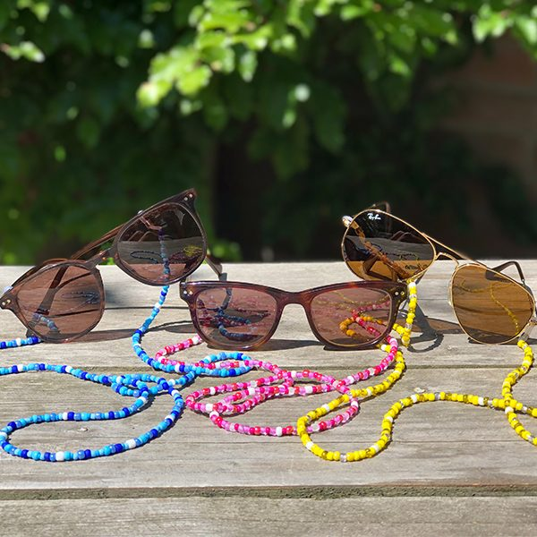 Verschillende zonnebrilkoordjes