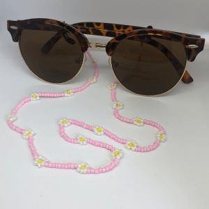 Madelief roze zonnebrilkoord